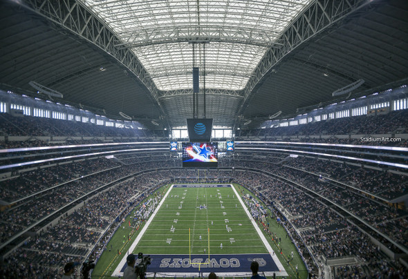Dallas Cowboys AT&T Stadium 02 NFL Football ATT 8x10-48x36 CHOICES