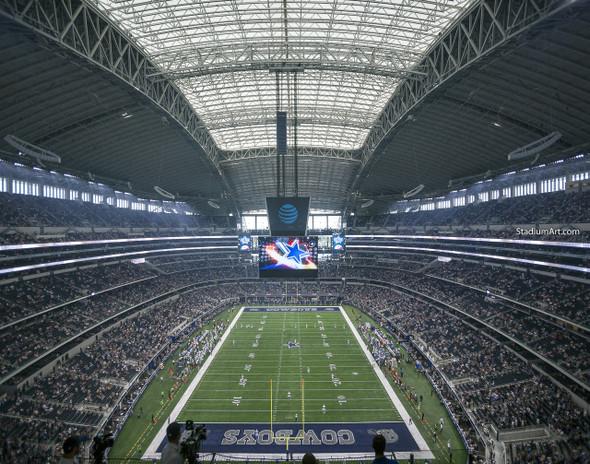 Dallas Cowboys AT&T Stadium 02 NFL Football ATT 8x10-48x36 CHOICES