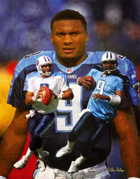Steve McNair Tennessee Titans QB Quarterback NFL Football Art Print 8x10-48x36 2510