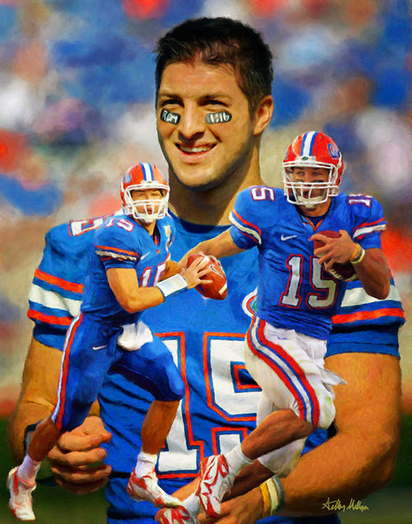 Tim Tebow Florida Gators College Football NCAA QB Quarterback