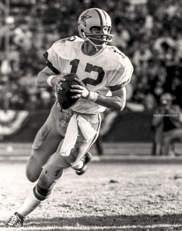 Dallas Cowboys Roger Staubach 54 NFL Football 8x10-48x36 CHOICES