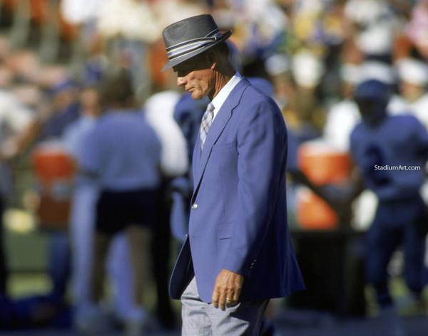 Dallas Cowboys Tom Landry 51 NFL Football 8x10-48x36 CHOICES