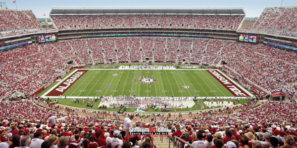 Alabama Crimson Tide Bryant 50yd Bryant-Denny Stadium NCAA College Football Photo 02 8x10-48x36