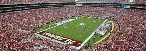 Alabama Crimson Tide Bryant Corner Bryant-Denny Stadium NCAA College Football Photo 04 8x10-48x36