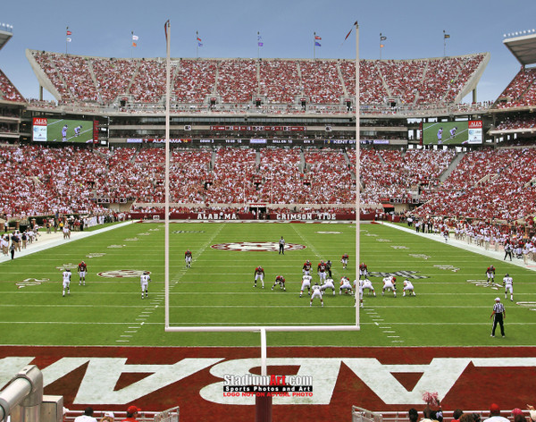 Alabama Crimson Tide Bryant EZ Bryant-Denny Stadium NCAA College Football Photo 03 8x10-48x36