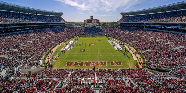 Alabama Crimson Tide Bryant EZ Bryant-Denny Stadium NCAA College Football Photo 7 8x10-48x36