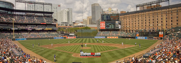 Baltimore Orioles Camden Yards MLB Baseball Photo 03  8x10-48x36