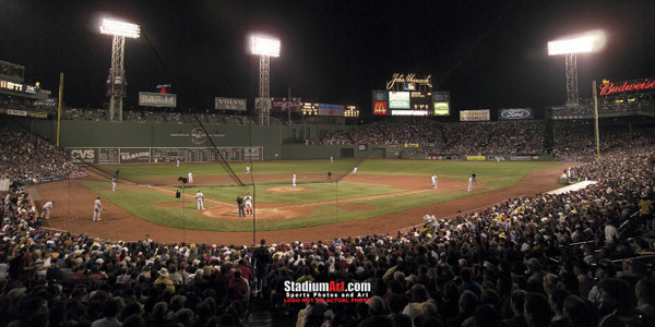 Boston Red Sox Fenway Park MLB Baseball Photo 01b 8x10-48x36