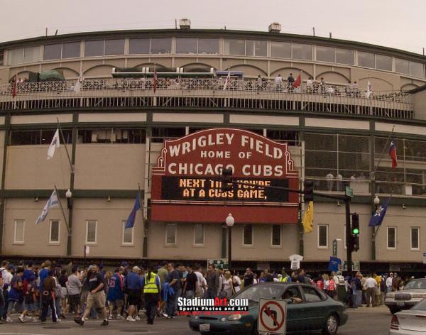 Chicago Cubs Wrigley Field MLB Baseball Photo 40 8x10-48x36