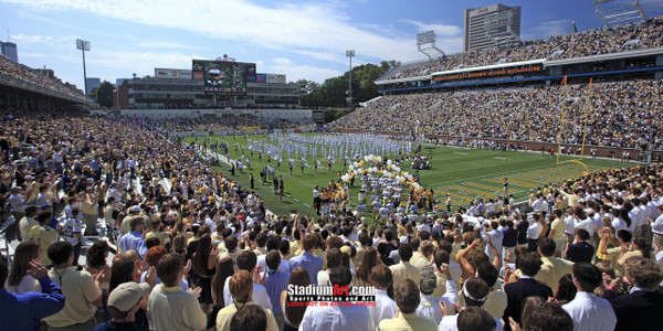 Georgia Tech Yellow Jackets Bobby Dodd Stadium Photo 8x10-48x36 Print 01