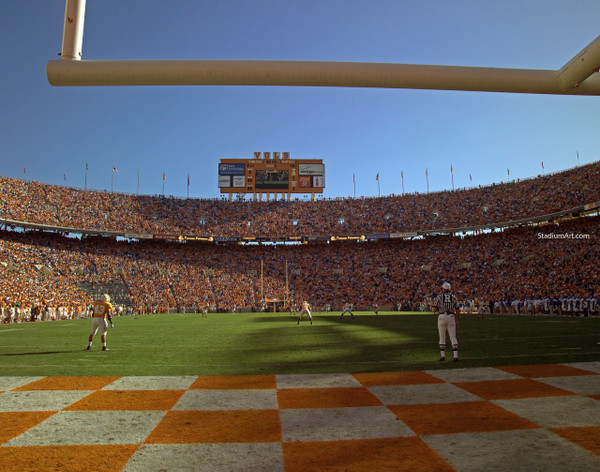 Tennessee Volunteers Neyland Stadium 10 Vols NCAA College Football CHOICES