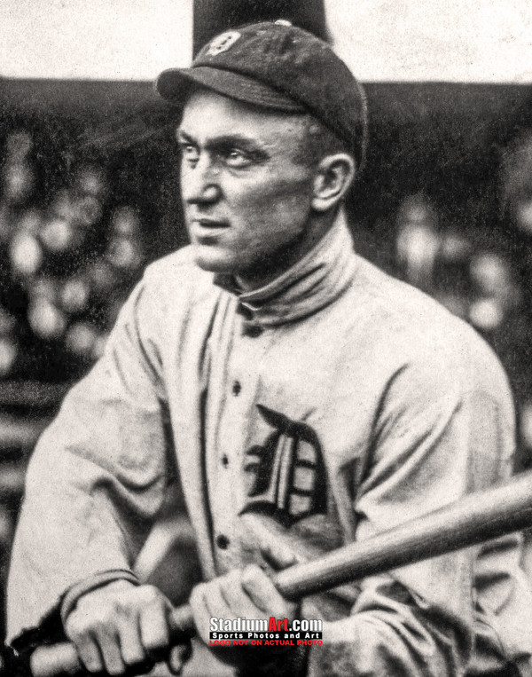 Detroit Tigers Ty Cobb Baseball Photo Print 61b 8x10-48x36
