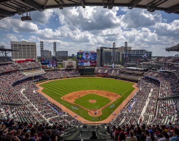 Atlanta Braves SunTrust Park New Baseball Stadium 02 MLB 8x10-48x36 CHOICES