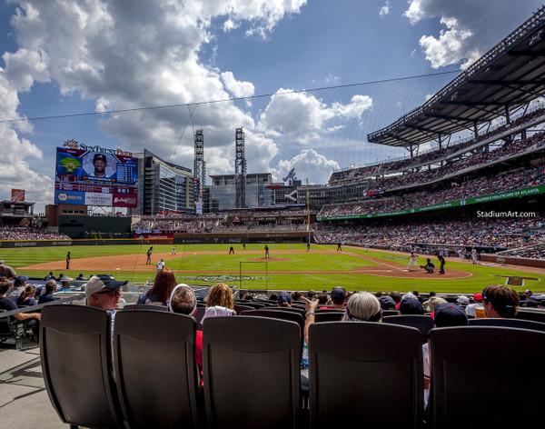 Atlanta Braves SunTrust Park New Baseball Stadium 05 MLB 8x10-48x36 CHOICES