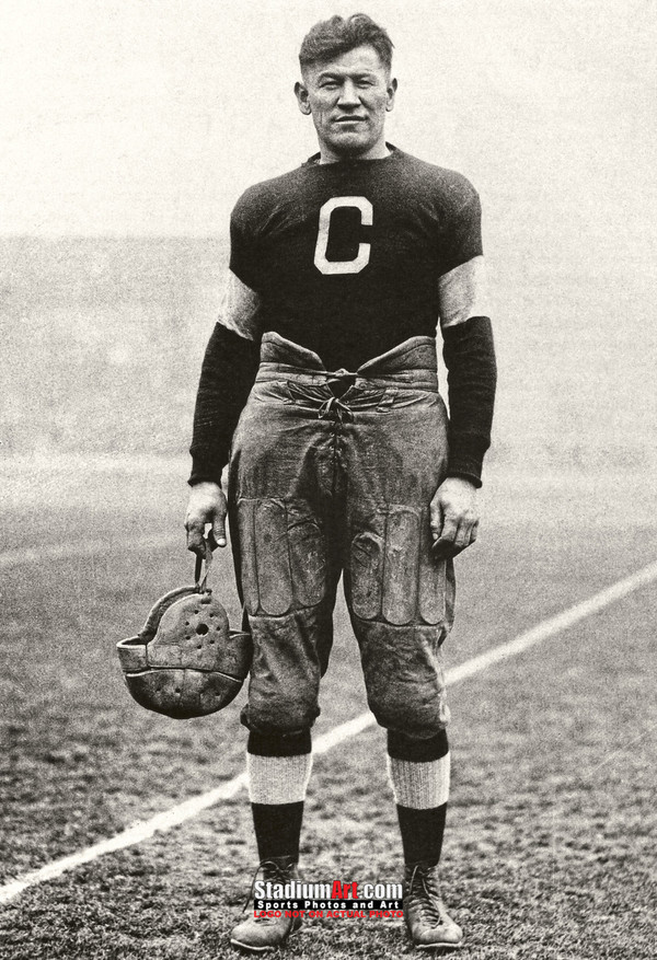 Jim Thorpe Football Standing 13x19 or 24x36 photo StadiumArt.com Sports Photos