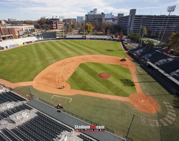 Vanderbilt Baseball Stadium Vandy Commodores Hawkins Field 8x10 or 11x14 or 40x30 photo StadiumArt.com Sports Photos