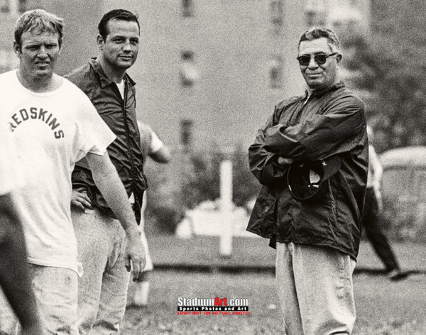 Vince Lombardi Washington Redskins 8x10 or 11x14 or 40x30 photo StadiumArt.com Sports Photos