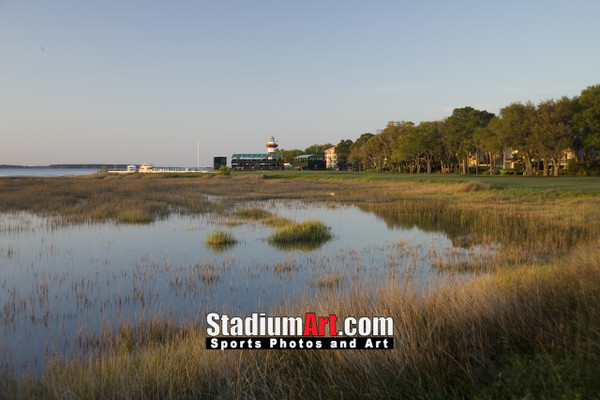 Harbour Town Golf Links at The Sea Pines Resort  Golf Hole 18  8x10-48x36 Photo Print 1230