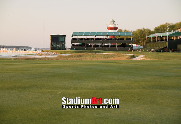 Harbour Town Golf Links at The Sea Pines Resort  Golf Hole 18  8x10-48x36 Photo Print 1250
