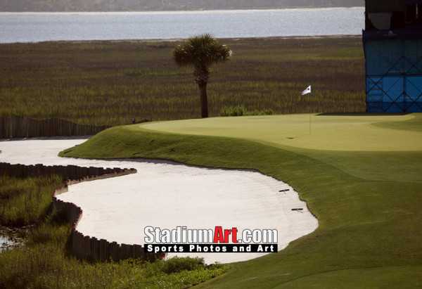Harbour Town Golf Links at The Sea Pines Resort Golf Hole 17  8x10-48x36 Photo Print 1430