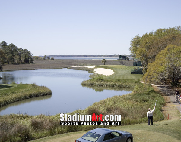 Harbour Town Golf Links at The Sea Pines Resort Golf Hole 17  8x10-48x36 Photo Print 1490