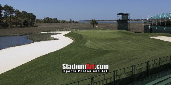 Harbour Town Golf Links at The Sea Pines Resort Golf Hole 17  8x10-48x36 Photo Print 1510
