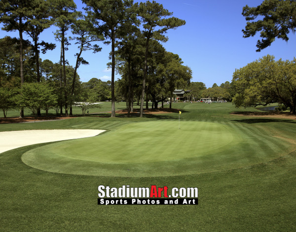 Harbour Town Golf Links at The Sea Pines Resort Golf Hole  8x10-48x36 Photo Print 1605