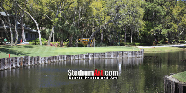 Harbour Town Golf Links at The Sea Pines Resort Golf Hole  8x10-48x36 Photo Print 1660