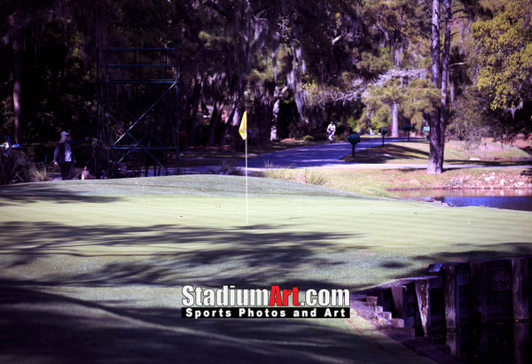 Harbour Town Golf Links at The Sea Pines Resort Golf Hole  8x10-48x36 Photo Print 1680