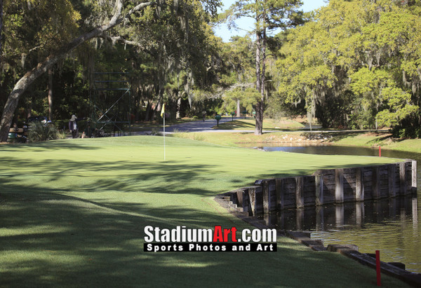 Harbour Town Golf Links at The Sea Pines Resort Golf Hole  8x10-48x36 Photo Print 1685