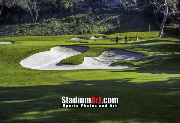 Riviera Country Club Golf Hole 6 8x10-48x36 Photo Print 1290
