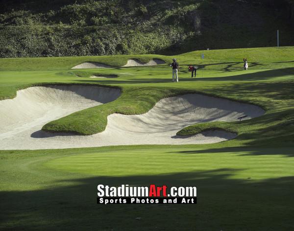 Riviera Country Club Golf Hole 6 8x10-48x36 Photo Print 1288
