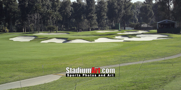 Riviera Country Club Golf Hole 10 8x10-48x36 Photo Print 1215