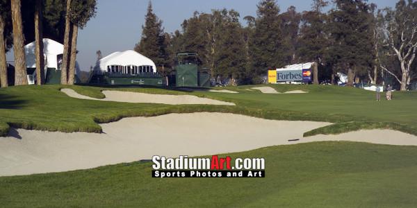 Riviera Country Club Golf Hole 17 8x10-48x36 Photo Print 1240