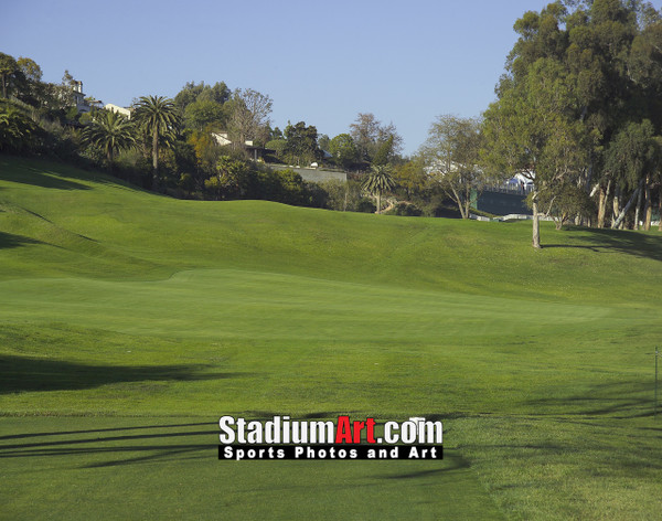 Riviera Country Club Golf Hole 18 8x10-48x36 Photo Print 1255