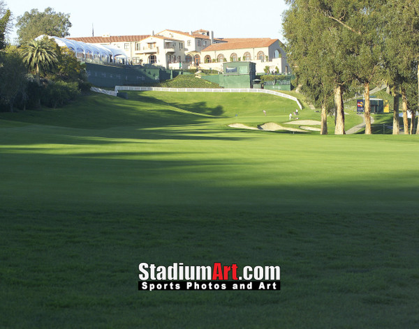 Riviera Country Club Golf Hole 18 8x10-48x36 Photo Print 1265