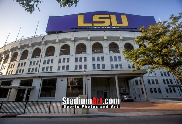 LSU Tigers Tiger Stadium 1330 8x10-48x36 1260