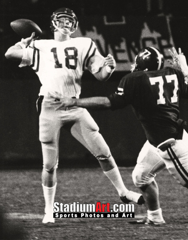 Ole Miss Rebels z Archie Manning Mississippi NCAA College Football 8x10-48x36 Photo Print 51