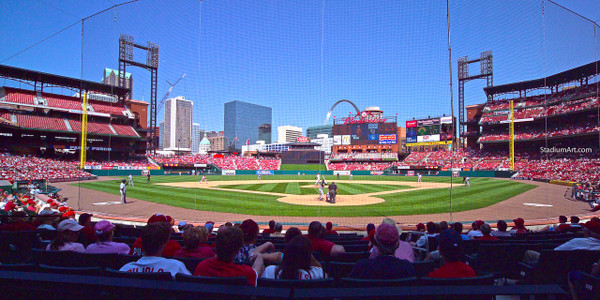 St. Louis Cardinals Busch Stadium 13 MLB 8x10-48x36 CHOICES