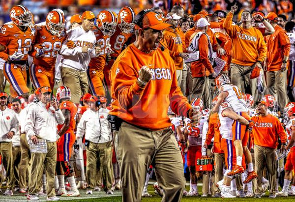 Clemson Tigers Dabo Coach