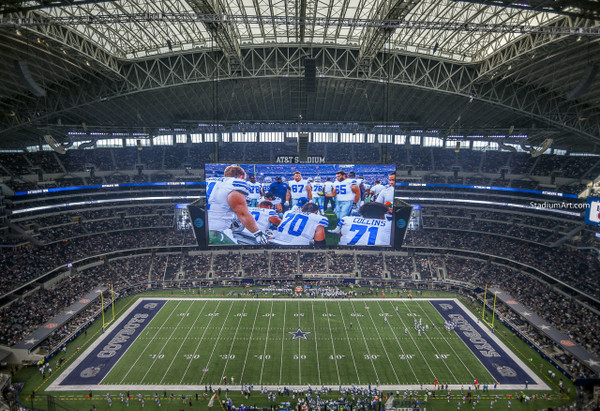 Dallas Cowboys AT&T Stadium 05 NFL Football ATT 8x10-48x36 CHOICES