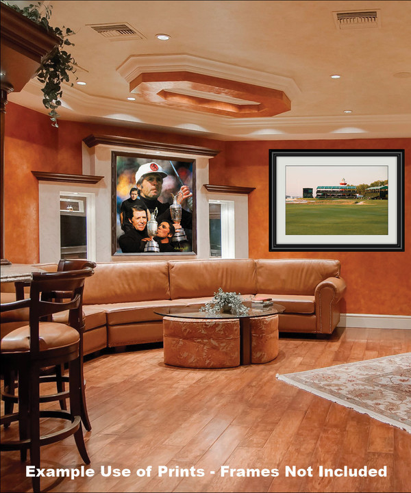 Gary Player Masters and Open Champion PGA Golf Professional Golfer Art Print 2520 8x10-48x36 framed on wall in family game room