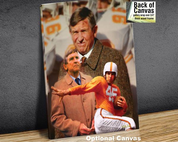 Johnny Majors Coach Tennessee Vols NCAA College Football 2520 Art Print 8x10-48x36