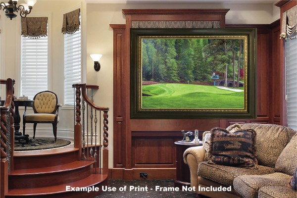 Augusta National Golf Club Masters Tournament Hole 11 White Dogwood golf course oil painting art print 2550 Art Print luxury room example