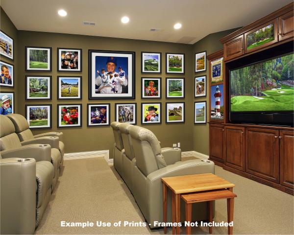 Tom Seaver New York Mets Tom Terrific NY Miracle Mets MLB Baseball Stadium Art Print 2510 media room example