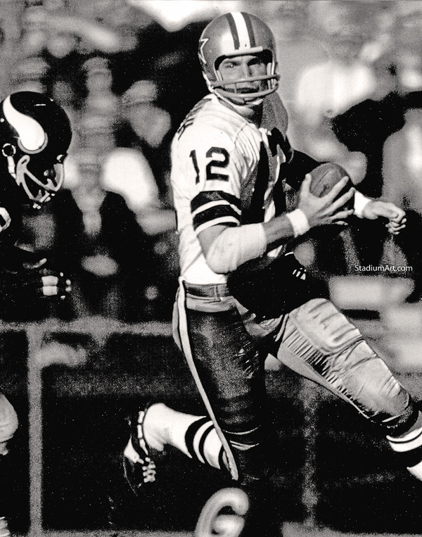 Dallas Cowboys Roger Staubach 53 NFL Football 8x10-48x36 CHOICES