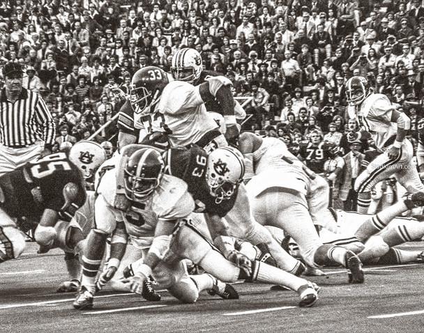 Alabama Crimson Roll Tide Auburn War Eagles Iron Bowl College Football Photo 51 8x10-48x36