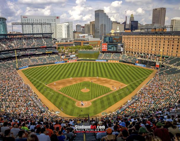 Baltimore Orioles Camden Yards MLB Baseball Photo 01  8x10-48x36