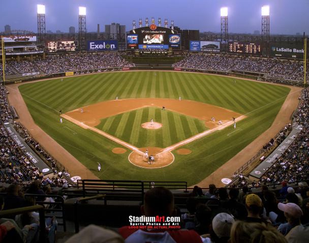 Chicago White Sox MLB Baseball Stadium Photo 01 8x10-48x36