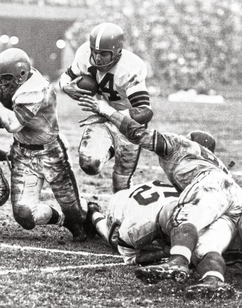 Cleveland Browns Otto Graham Football Photo Print 02 8x10-48x36